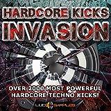 Hardcore Kicks Invasion - La migliore raccolta di campioni hardcore | AIFF + Soundfonts DVD non BOX