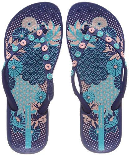 Ipanema Damen Anatomic Lovely VIII Fem Zehentrenner, Mehrfarbig (Blue), 38 EU (Brasilien-flip-flops)