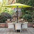 Grand Patio Gartenschirm mit Dreh-Kipp-Mechanismus Kurbelschirm Sonnenschutz UV-Schutz Sonnenschirm von Grand Patio auf Gartenmöbel von Du und Dein Garten