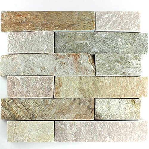 Naturstein Mauer Verblender Sand Bricks Stone