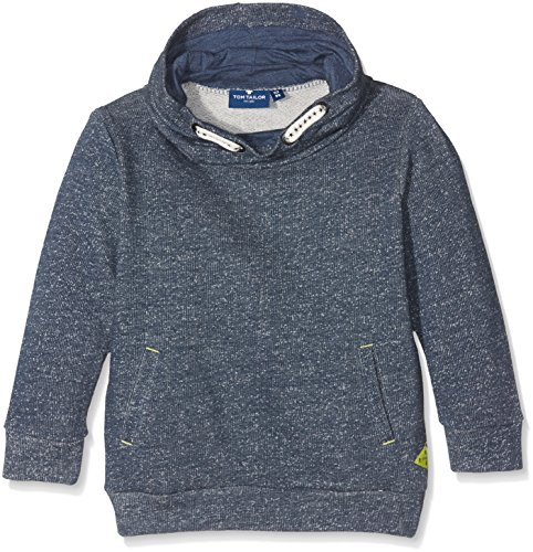 TOM TAILOR Kids Jungen Sweatshirt Structured Turtle Neck Sweater, Rot (Original 1000), 134