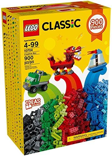 LEGO 10704 Classic Kreativ-piedrasbox 900 piedras