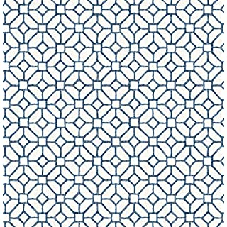 BHF FD22238 Ami Gigi Blue Geometric Wallpaper, Navy