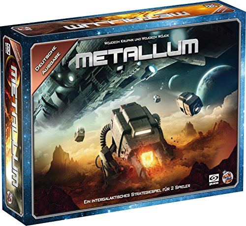 GALAKTA HE723 Metallum - EIN intergalaktisches Strategiespiel für 2 Spieler