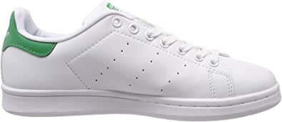 Adidas Stan Smith. Scarpa Bianca Donna M20605 Sport, Tennis, Sneaker, (38.5 EU, White/White/Green)