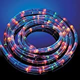 ROPE LIGHTS 25M MULTI COLOUR GARDEN OUTDOOR INDOOR LED XMAS PARTY LIGHTING by UK Home & Garden Store Ltd