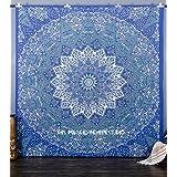 Grande Star Mandala Tapestries, bohemio Tapiz Decoración de pared para colgar en la pared, Hip...