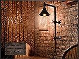 RšŠtro projet d'šŠclairage industriel de restaurant de style loft lampe murale amšŠricaine couloir bar balcon tuyaux Creative