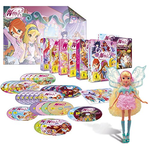 Winx Club – Staffel 1-6  Feen Special - inkl. Puppe (exklusiv bei Amazon.de) [Limited Edition] [31 DVDs]