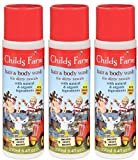 (3 PACK) - Childs Farm - Hair & Body Wash for Rascals | 250ml | 3 PACK BUNDLE