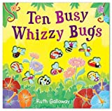 Ten Busy Whizzy Bugs (Moulded Counting Books)
