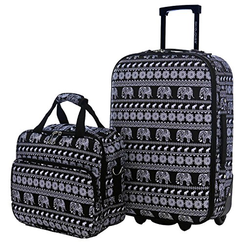 David Jones - Set Valise Cabine Souple Légère + Mallette...