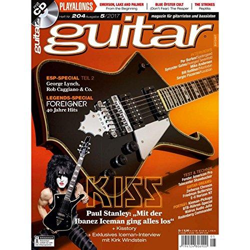Guitar Book Kiss Tab (KISS - ESP Special Teil 2 - guitar Magazin mit Play along CD - Interviews - Workshops - Gitarre Playalongs - Gitarre Test und Technik)