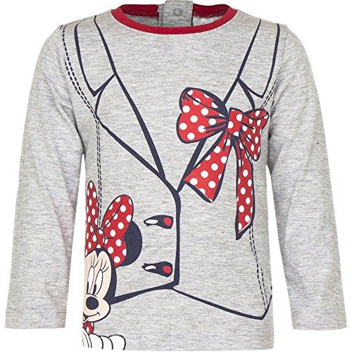 Disney Baby Minnie Maus Baby Langarmshirt (81cm (18 Monate) Grau)