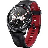Honor Magic Watch Smartwatch in Klassiek Horlogedesign, met 3 cm/1,2 inch AMOLED-Display, Meteoriet Zwart