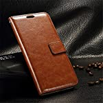 Executive brown leather stand wallet case flip cover and save yourself from the heartbreak and agony of watching the scratches and damages on your device multiply periodically. This sleek executive flip cover case is designed to a perfect fit on your...