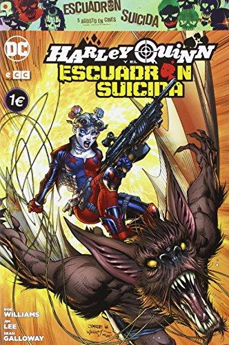 Harley Quinn y El Escuadrón Suicida por Rob Williams