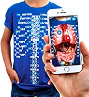 virtuali-tee | Educational Augmented Reality camiseta | Stem Toy Ages 3 and Up
