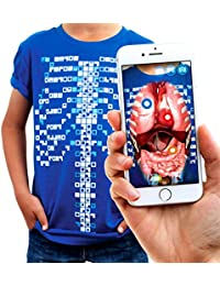 Virtuali-Tee Educational Augmented Reality T-Shirt   STEM Toy Ages 3 and Up