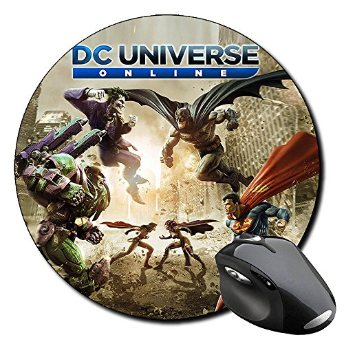 batman-superman-dc-universe-online-alfombrilla-redonda-round-mousepad-pc
