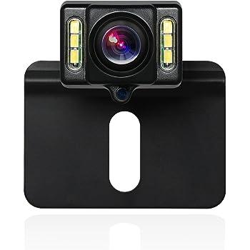Hifuture R/ückfahrkamera,150/° Winkel WiFi Mini Nachtsicht Auto R/ückansicht Kamera,IP66 wasserdicht,R/ückfahrhilfe/&Einparkhilfe,ideal f/ür die meisten Automodell,f/ür iOS und Android Handy