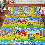 Indian Rack Angry Birds Kids Cotton Doub...