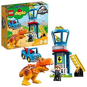 LEGO DUPLO Jurassic World - La torre del T. Rex, 10880  LEGO