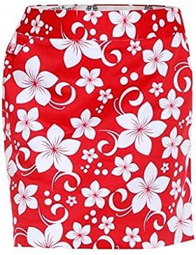 Royal & Awesome Wahine Magnet - Falda-pantalón de golf para mujer, multicolor, talla 36