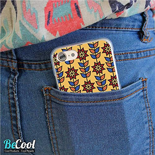 BeCool®- Coque Etui Housse en GEL Flex Silicone TPU Iphone 8, Carcasse TPU fabriquée avec la meilleure Silicone, protège et s'adapte a la perfection a ton Smartphone et avec notre design exclusif. Des L1286