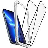 Spigen AlignMaster Screenprotector compatibel met iPhone 13 Pro Max, 2 Stuks, Frame voor eenvoudige installatie, Volledige de