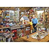 Gibsons Grandad's Workshop Jigsaw Puzzle, 1000 piece