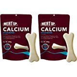 Meat Up Calcium Milk Bone Pouch, Dog Treats - 25 Pieces, 230g (Buy 1 Get 1 Free)
