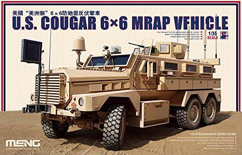 Unbekannt Meng SS005 - 1/35 US Cougar 6 x 6 MRAP Vehicle