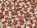 Blumenmuster im Vintage-Stil Print Polyester Chiffon Kleid