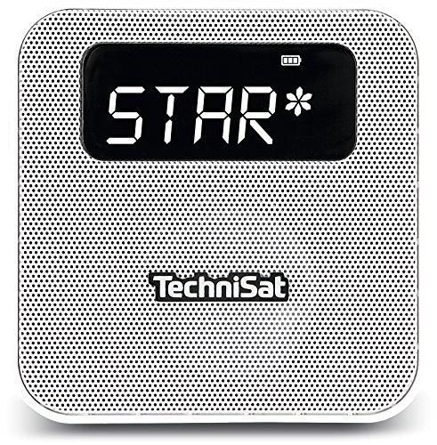 TechniSat DIGITRADIO FLEX Digital-Radio (mit DAB+, UKW, Favoritenspeicher, Bluetooth, Steckdosenradio) weiß