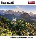 Bayern - Kalender 2017: Sehnsuchtskalender, 53 Postkarten