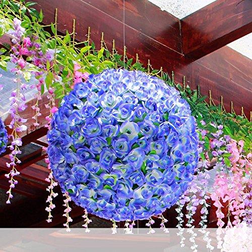 NOHOPE Bouquet di Rose nozze di emulazione Flower Art matrimonio fiore Hotel a sfera Wedding Mall soffitto decorato arti floreali