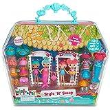 Lalaloopsy Deluxe Mermaid - muñecas (Chica, Multicolor, De plástico, Vestido para muñecas, Zapatos, Femenino, CE)