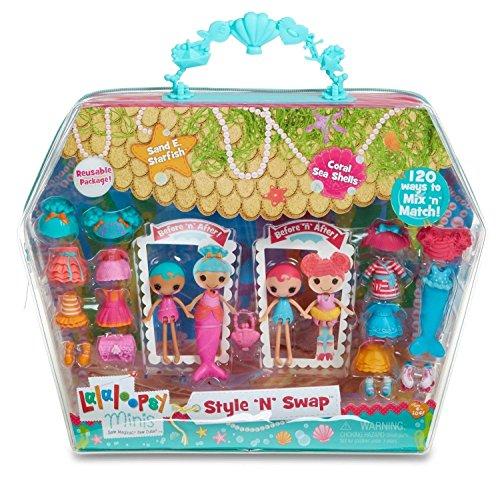 Lalaloopsy Minis Style N Swap Multipack Doll- Mermaid