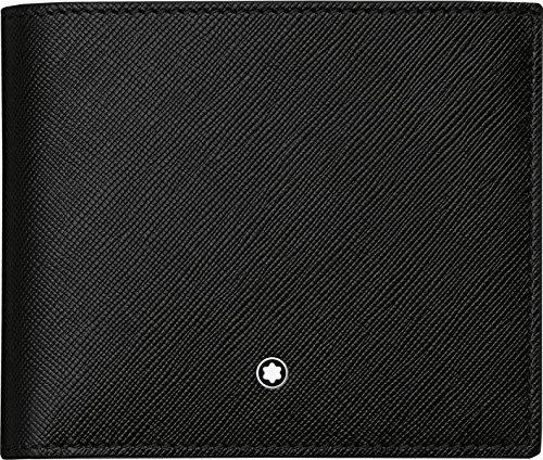 Münzfach Brieftasche (Montblanc 113222 Sartorial Brieftasche 4 cc mit Münzfach)