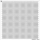 1/20,3cm Dots Schablone von studior12  einfach Wiederholen Muster Art-Medium 12x 12Zoll wiederverwendbar Mylar   Malerei, Kreide, Mischtechnik   Vorlage, für, DIY Home Decor-stcl716_ 4