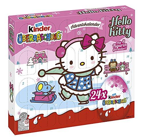 Calendario Avvento Kinder.Kinder Sorpresa Calendario Dell Avvento Hello Kitty 480g
