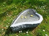 Vogeltränke aus Granit Nr. 43 | Vogelbad aus Naturstein | Unikat | Handarbeit !
