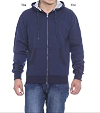 Tnx Men's Cotton Hooded Sweatshirt
