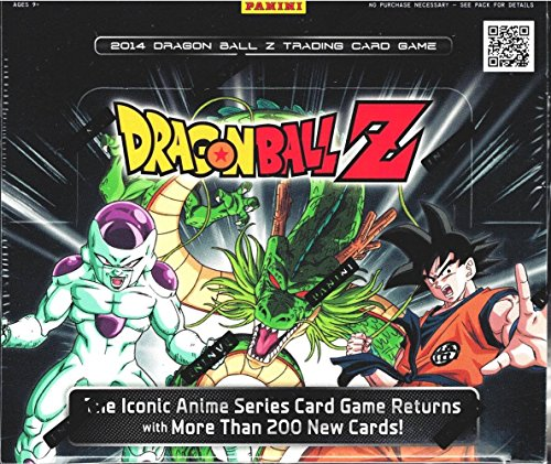 CG Trading Card Game Sealed Booster Box (24 Packs) DBZ ()