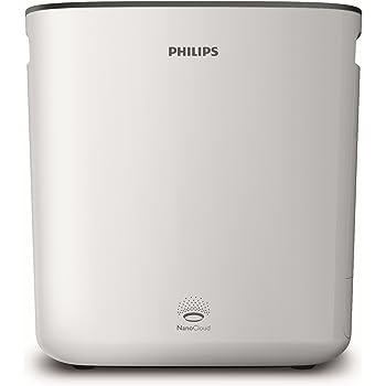 Philips HU5930/10 Luftwäscher (Optimale Luftbefeuchtung mit Reinigungswirkung, bis zu 70m²) weiß