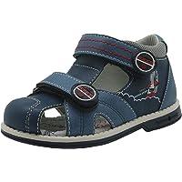 Apakowa Sandales Bout Ouvert bébé garçon Scratch Chaussures d'été
