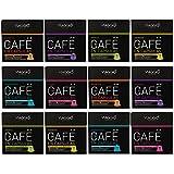 VIAGGIO ESPRESSO - 120 Cápsulas de Café Compatibles con Máquinas Nespresso - SURTIDO