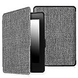 Fintie Kindle Paperwhite Custodia - Case Cover Custodia Ultra Sottile per Amazon Nuovo Kindle Paperwhite (Adatto Tutte le versioni: 2012, 2013, 2014 e 2015 Nuovo 300 ppi), Fabric Sandstone