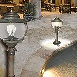 Schiffs Sockel Leuchte ↥500mm/ Antik/ Maritim/ Braun/ Rost/ Messing/ AUSSEN Wege Lampe Aussenlampe Aussenleuchte Gartenlampe Gartenleuchte Sockellampe Sockelleuchte Wegelampe Wegeleuchte